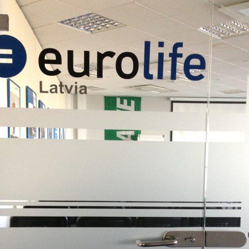 Eurolife starpsienu aplīmēšana