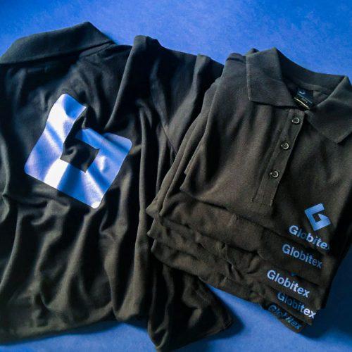 t-kreklu apdruka Globitex