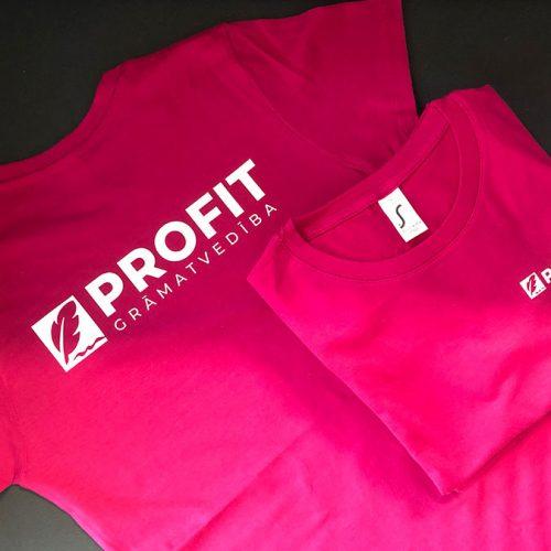 t-kreklu apdruka Profit