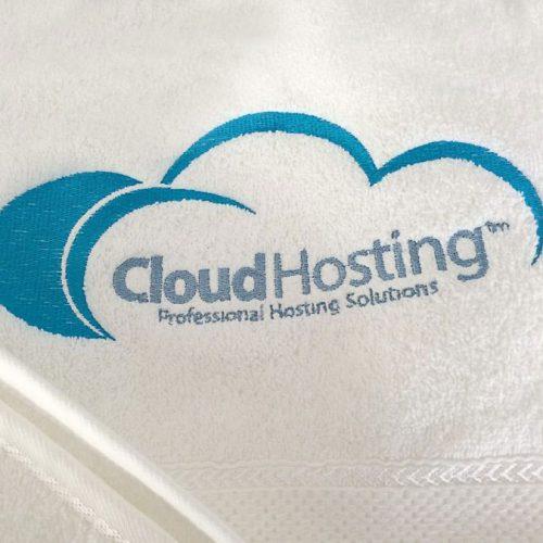 Logo izšūšana Cloud Hosting