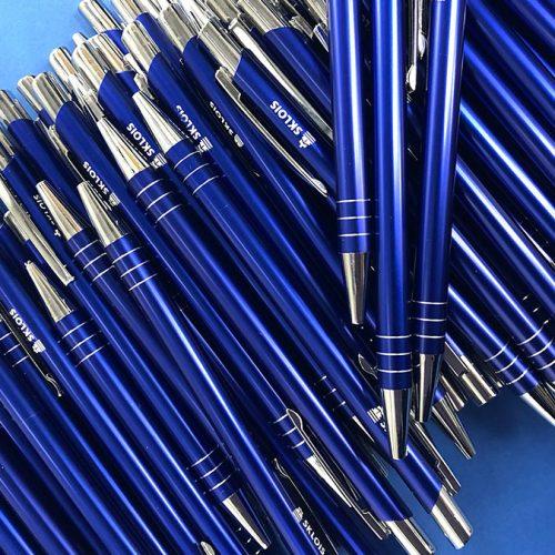 Pildspalvas ar gravējumu SKLOIS