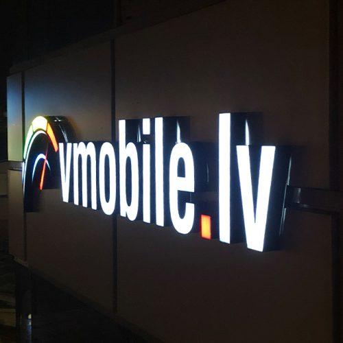 Sarežģīts elements un burti ar day/night gaismas filtru – VMobile.lv