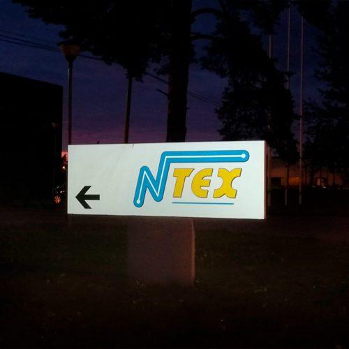 Gaismu atstarojošā norāde – NTEX