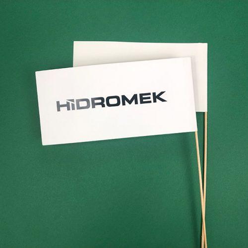 Papīra karodziņi HIDROMEK