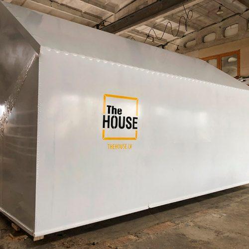 Aizsargplēve mājas ietīšanai- THE HOUSE